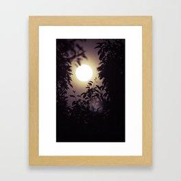 Super Moon I Framed Art Print