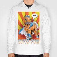 superhero Hoodies featuring Superhero Pony by GumiPoni