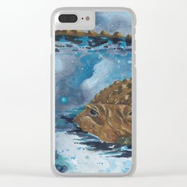 Milky Way Monster Clear iPhone Case