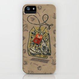 Tea bag iPhone Case