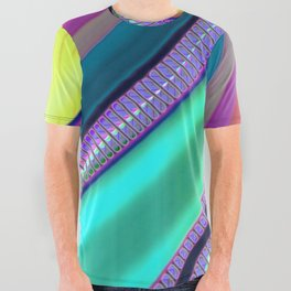 Color Wave ~036~ All Over Graphic Tee