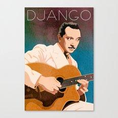 Django Reinhardt – Jazz Manouche Canvas Print
