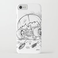 """skate iPhone & iPod Cases featuring """"Skate"""" by Jorge Daszkal"""