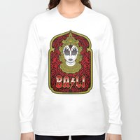 bali Long Sleeve T-shirts featuring Bali Rocks by Roberlan Borges