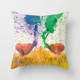 FIGHT FOR PARTY Throw Pillow