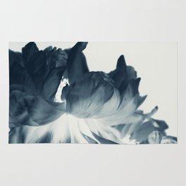 Blue Paeonia #2 Rug