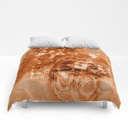 Rusty ghost wreck Comforters