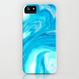 Aqua Marble iPhone Case