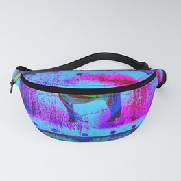 Horse, blue and purple Fanny Pack
