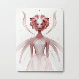Rose Fairy Metal Print