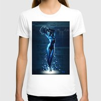 hologram T-shirts featuring Cortana by Raenyras
