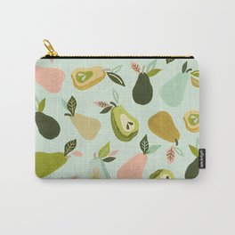Pear Collection – Mint Carry-All Pouch