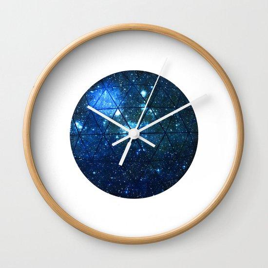 Star Geodesic Wall Clock