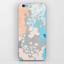 Freya - Painted minimal bright summer palette boho abstract decor minimalist iPhone Skin