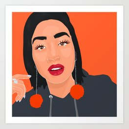 @sarah_novio Art Print