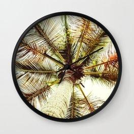 Perfect Palm Tree Wall Clock