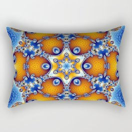 Ocean Life Mandala Rectangular Pillow