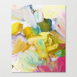 Lots of Feelings Abstract Painting Canvas Print