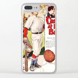 Casey at the Bat - Film Poster (1927) Clear iPhone Case