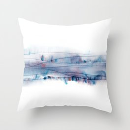 Gene wave Throw Pillow