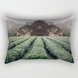 Unknown Fields of a Strange Land Rectangular Pillow