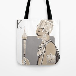 King B. Tote Bag
