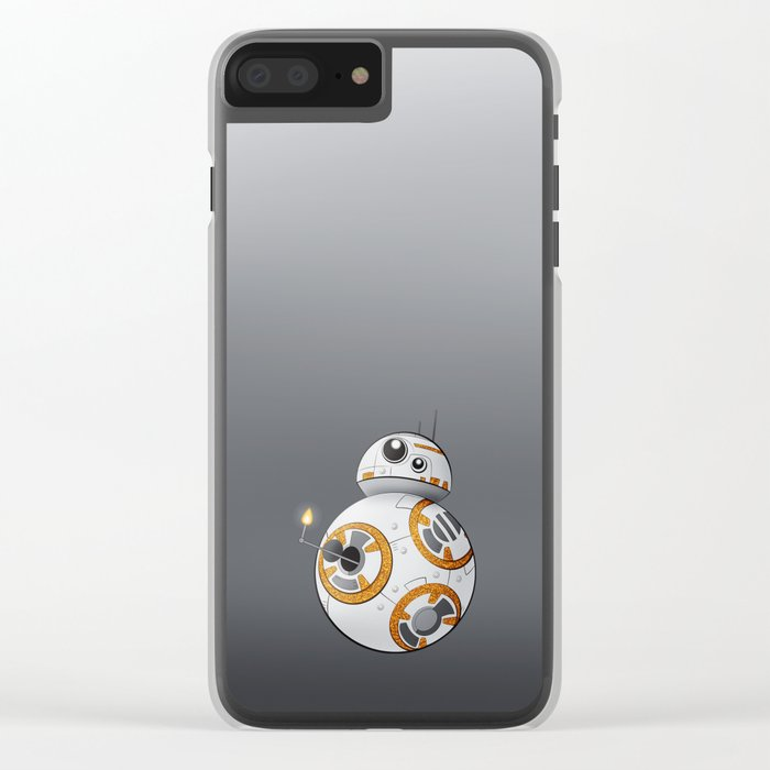 War in the Stars -- BB-8 Clear iPhone Case