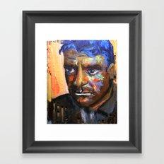 Le cri se tait Framed Art Print