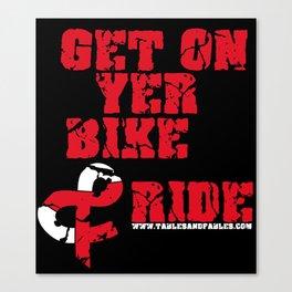 """Get on yer bike..."" Canvas Print"
