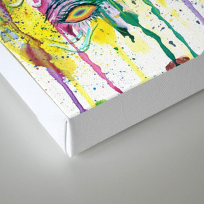Melting My Face Off Canvas Print