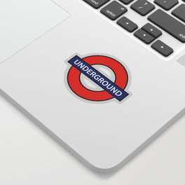London Underground Sticker
