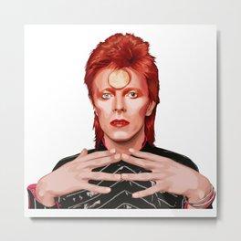 """""""Ziggy"""" Metal Print"""