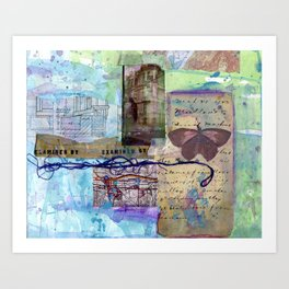 examined by Art Print