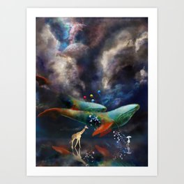 Night II - Dreamwalker Art Print
