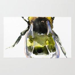 Bumblebee - bee artwork Rug