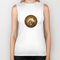basketball Biker Tanks featuring Basketball by Anastassia Elias