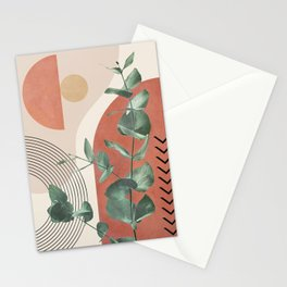 Nature Geometry IV Stationery Cards