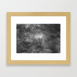 The Wood Framed Art Print