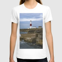 Portland Bill Lighthouse Dorset England T-shirt