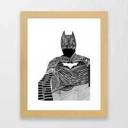 Knight of Night Framed Art Print
