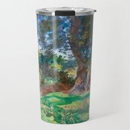 "John Singer Sargent ""Olive Trees, Corfu"" Travel Mug"