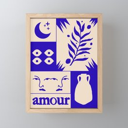 Amour Framed Mini Art Print