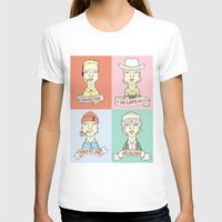 wes anderson T-shirts featuring Wes' Owens by Derek Eads