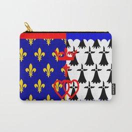 pays de la loire region flag france province Carry-All Pouch