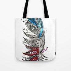 Garden Feather Tote Bag
