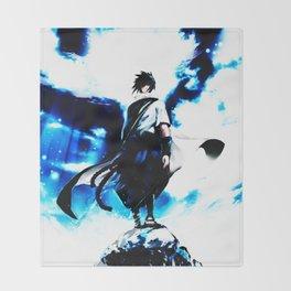uciha sasuke Throw Blanket