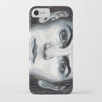 eddie vedder iPhone & iPod Cases featuring Vedder by Emily Morris