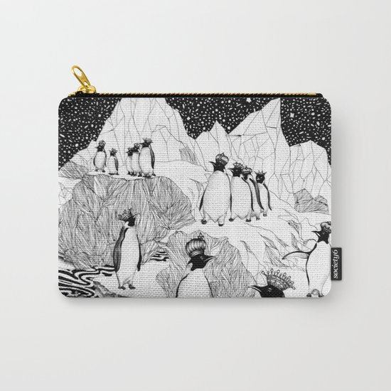 Too Many Kings Carry-All Pouch