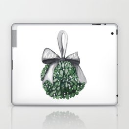 Kiss Me Under the Mistletoe Laptop & iPad Skin
