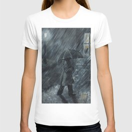 Trudging in the Rain T-shirt